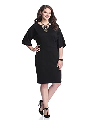 Taylor Women's Dolman Dress (Black)