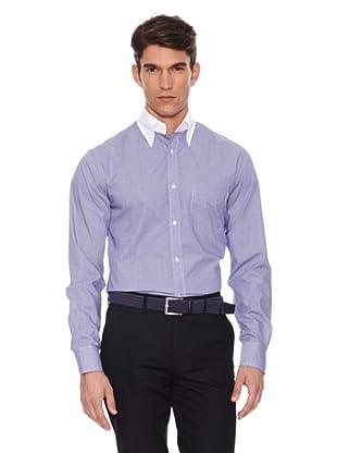 Hackett Camisa Cuadros (Marino / Blanco)