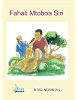 Fahali Mtoboa Siri (Swahili Edition)