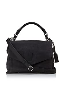 Gryson Women's Ruby Belted Top Handle Messenger, Black
