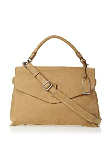 Gryson Women's Cybelle Solid Belted Large Top Handle Messenger (Blonde)