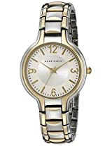 "Anne Klein Women's AK/1449SVTT ""Everyday Classics"" Two-Tone Watch"
