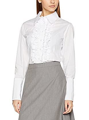 Nife Camisa Mujer Blanco S (EU 36)
