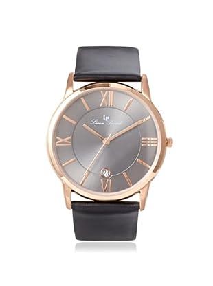 Lucien Piccard Unisex 10608-RG-014 Moiry Analog Display Swiss Quartz Black Watch