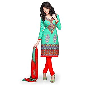 Vibrant Fashion Green Chudidar