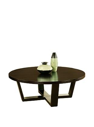 Abbyson Living Heritage Round Espresso Coffee Table