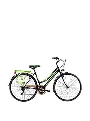 SCHIANO Fahrrad 28 Trekking 30 06V 703 schwarz/grün