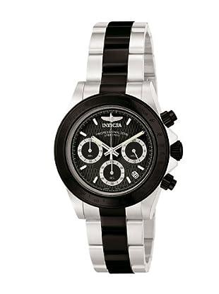 Invicta Reloj Speedway Classic Chrono 6934 plata / negro