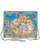 Educo Wood Magnetic Maze, Explore-a-Sub