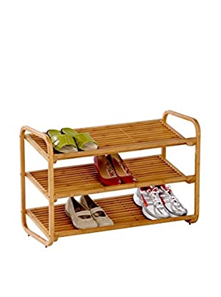 Honey-Can-Do 3-Tier Bamboo Shoe Shelf