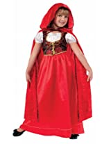 Forum Designer Collection Ill Red Riding Hood Child Costume, Large/12-14