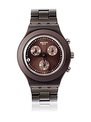 Swatch Quarzuhr Man FULL-BLOODED SMOKY SVCC4000AG 43.0 mm