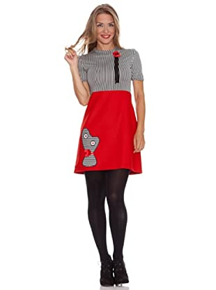Divina Providencia Vestido Momo (Rojo)