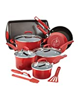 Rachael Ray 14 Piece Set Hard Enamel Cookware Bakeware and Tools