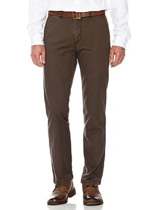 Dockers Pantalón Recto Básico (marrón)