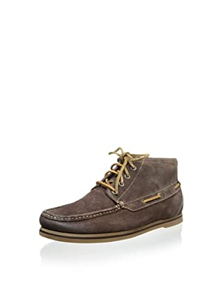 Florsheim Men's Tienomite Mid Boat Shoe (Brown)