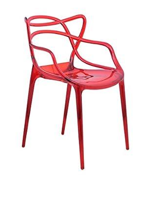 LeisureMod Milan Modern Wire Chair
