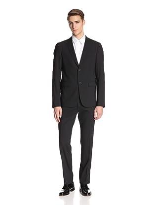 Jil Sander Men's Alexia Alessandro Suit Drop 8 Slim Fit (Black)