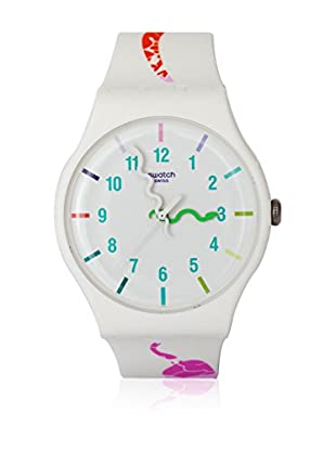 Swatch Quarzuhr Woman THE LEGEND OF WHITE SNAKE SUOZ158 41.0 mm