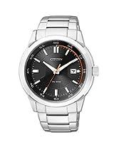 Citizen Eco-Drive Analog Black Dial Men's Watch BM7140-54E