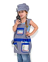 Melissa & Doug 4836 Train Engineer Role Play Costume Set