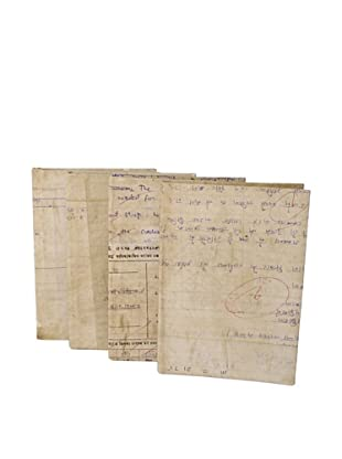 The HomePort Collection Set of 4 Large Paper Journals