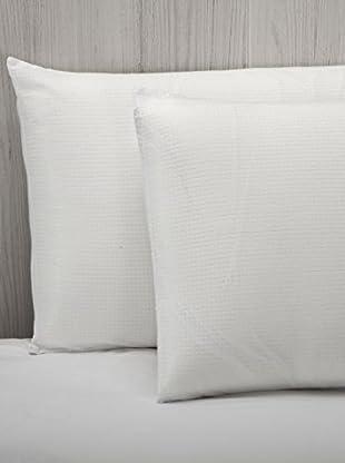 Almohada Fibra Termo Regulador (Blanco)