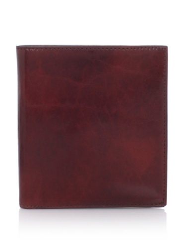 Bosca Men's 12-Pocket Credit Wallet, Cognac