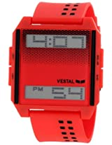 Vestal Unisex DIG023 Digichord Ultra Thin Red Digital Watch