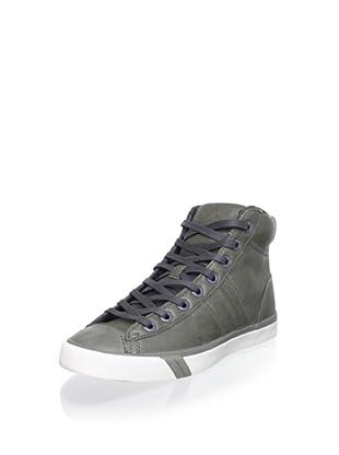 PRO-Keds Men's Royal Plus Hi Sneaker (Grey/Cream)