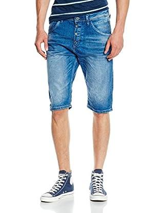 TOM TAILOR Denim Jeans ANTI FIT blue denim bermuda