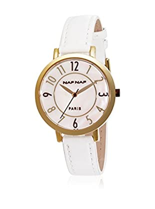 NAF NAF Quarzuhr Woman CUIR RD COULEURS - DIANNA 35 mm