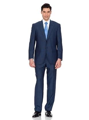 Pedro del Hierro Anzug (Blau)