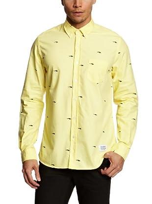 A QUESTION OF Camisa Martin (Amarillo)