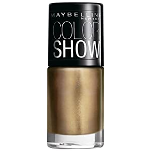 Maybelline Color Show Nail Enamel, Bold Gold