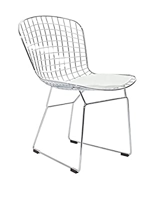 Modway Cad Dining Side Chair, White
