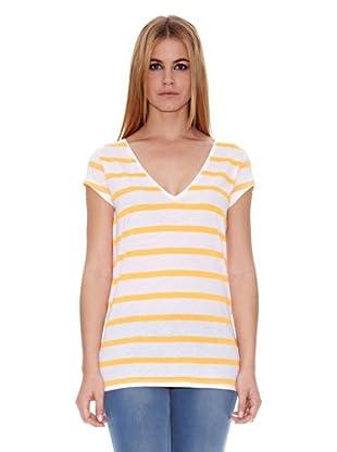 Naf Naf Camiseta Dadou (Naranja)