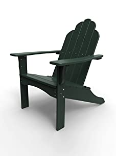 Malibu Outdoor Furniture Yarmouth Adirondack Chair (Turf Green)