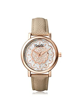 Nanette Lepore Women's 80701 Beige/Mother of Pearl Alloy Watch