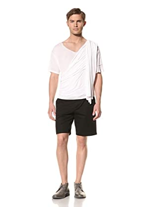 Rochambeau Men's Drape Side Shirt (White)