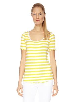 Bogner T-Shirt Sorina (Gelb/Weiß)