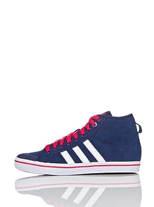 adidas Zapatillas Vulcanized Honey Stripes Mid (Azul / Fucsia)