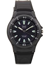 Q&Q Analog Black Dial Men's Watch - VP58J007Y