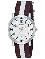 Timex OMG Analog White Dial Unisex Watch - TWEG15421