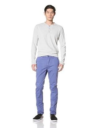 Just a Cheap Shirt Men's Slim Fit Chino (Royal)