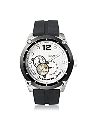 Lancaster Men's OLA0383BN Top Up Time Black/White Stainless Steel Watch
