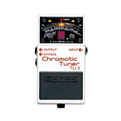BOSS CHROMATIC TUNER TU-3