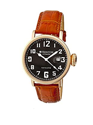 Heritor Automatic Uhr Olds Herhr3209 camel 50  mm