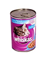 WHISKAS Trout & Sardine in Jelly
