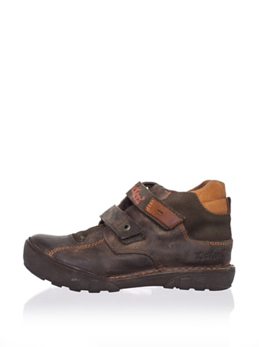 Kickers Kid's Rango High Sneaker (Toddler/Little Kid) (Brown)